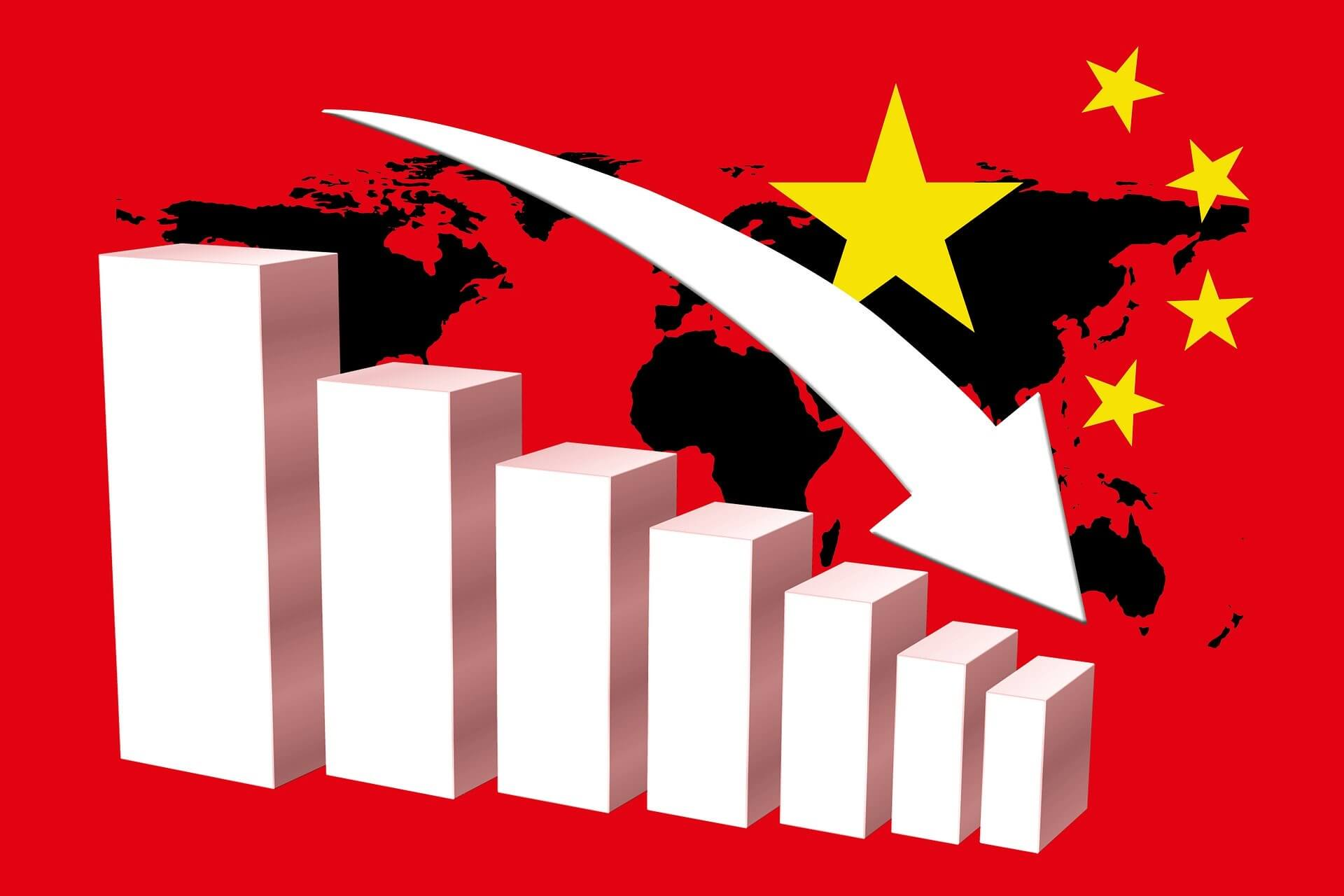 China production capacity decreases